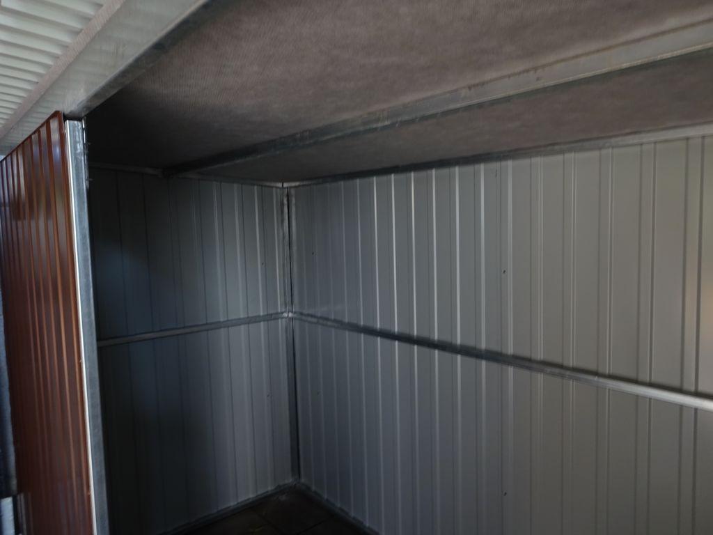 Blechgarage Fertiggarage Schuppen Lagerhalle Mehrzweckschuppen